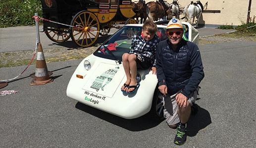 Mit dem E-Mobil über den Gotthard